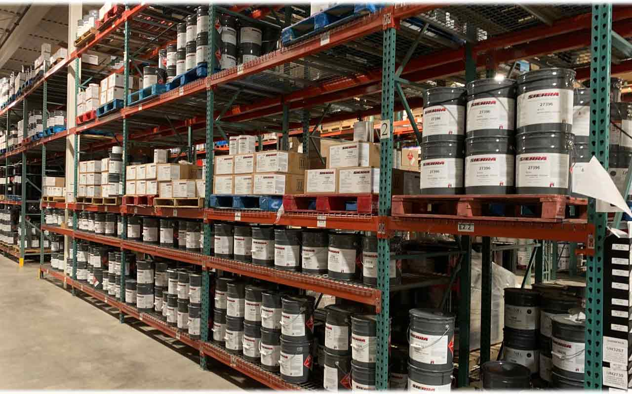 Sierra Paint Products on Shelf Ready to Ship